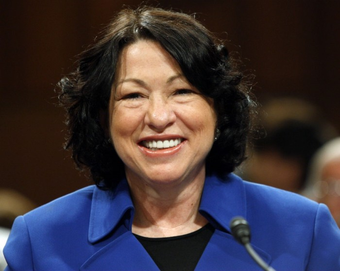 Justice Sonia Sotomayor (Reuters/Jason Reed)
