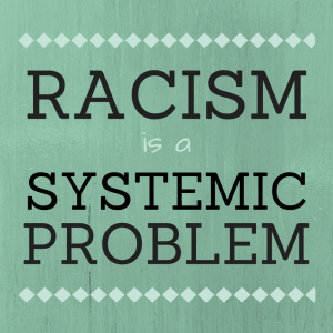 #racismissystemic blue