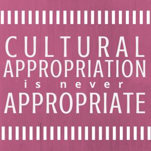 #AppropriationNotAppropriatePink2.0